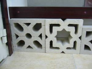 Cement Claustra Screen Blocks
