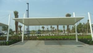 PVC with PVDF Coated Fabric Sheds