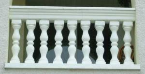 Re-Inforced Balustrades and Copings